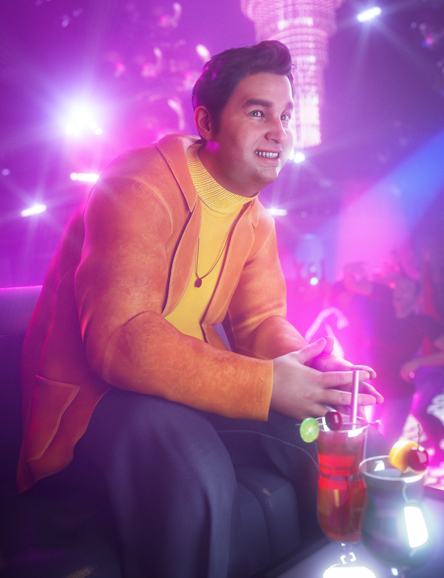 Fred 8.1 Brings Down the House Bundle by: , 3D Models by Daz 3D