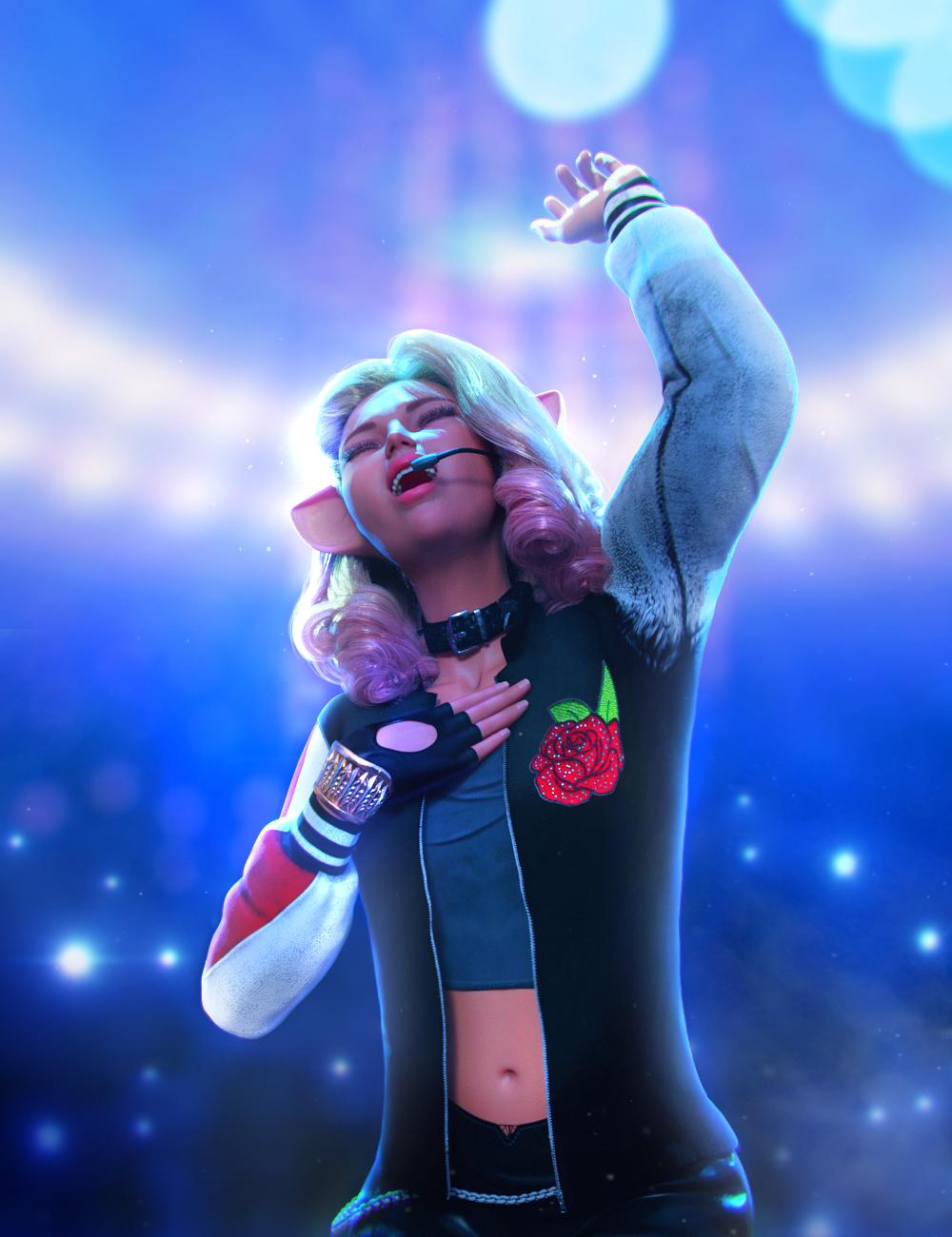 Singing Animations for Genesis 8.1 Female and Kiko 8.1 by: ThreeDigital, 3D Models by Daz 3D