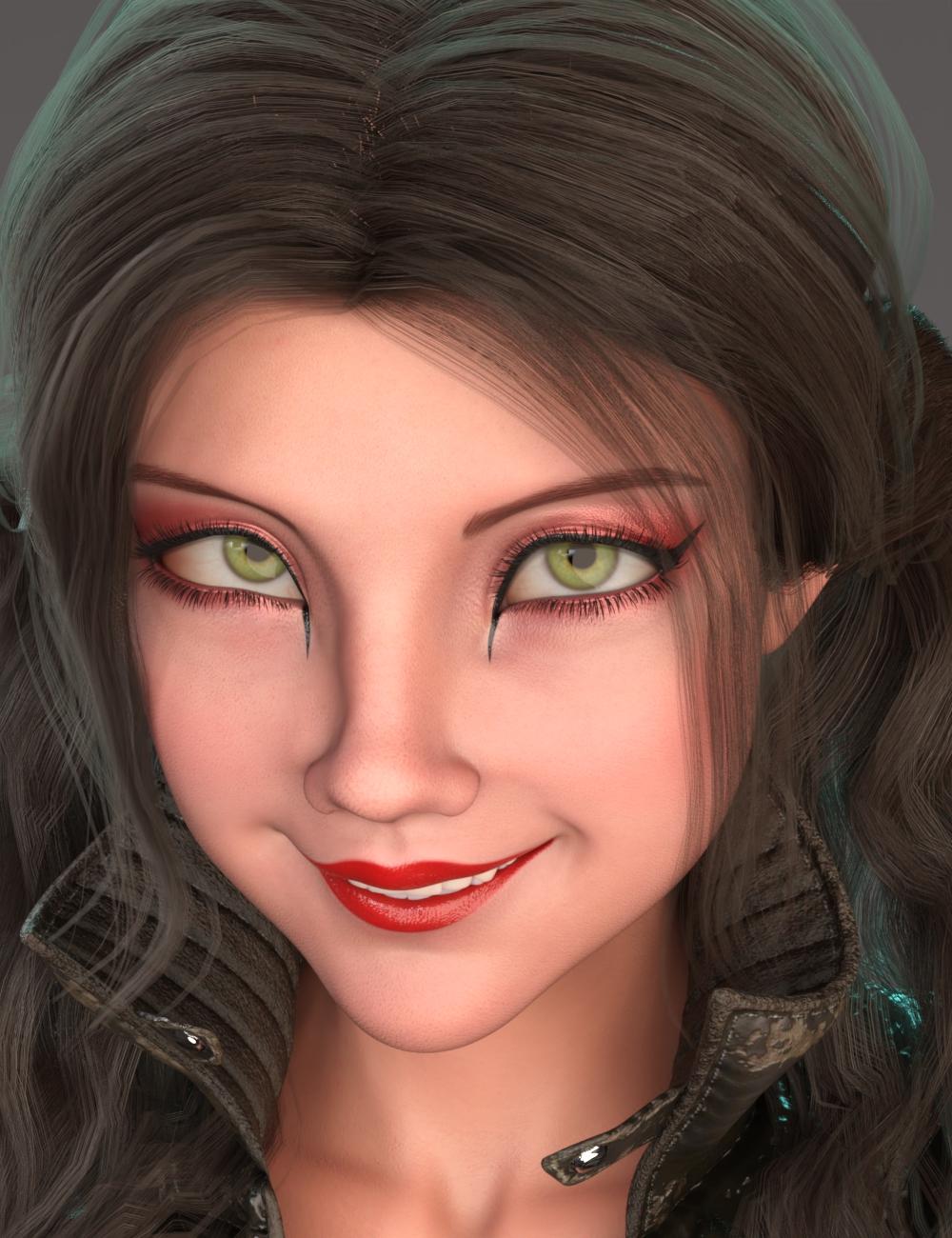 Alternative Shapes for Kiko 8.1 by: AliveSheCried, 3D Models by Daz 3D
