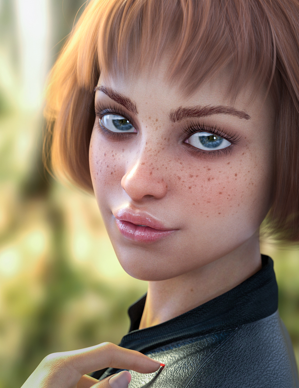 Mercy HD for Genesis 8 Female and Genesis 8.1 Female by: Colm Jackson, 3D Models by Daz 3D
