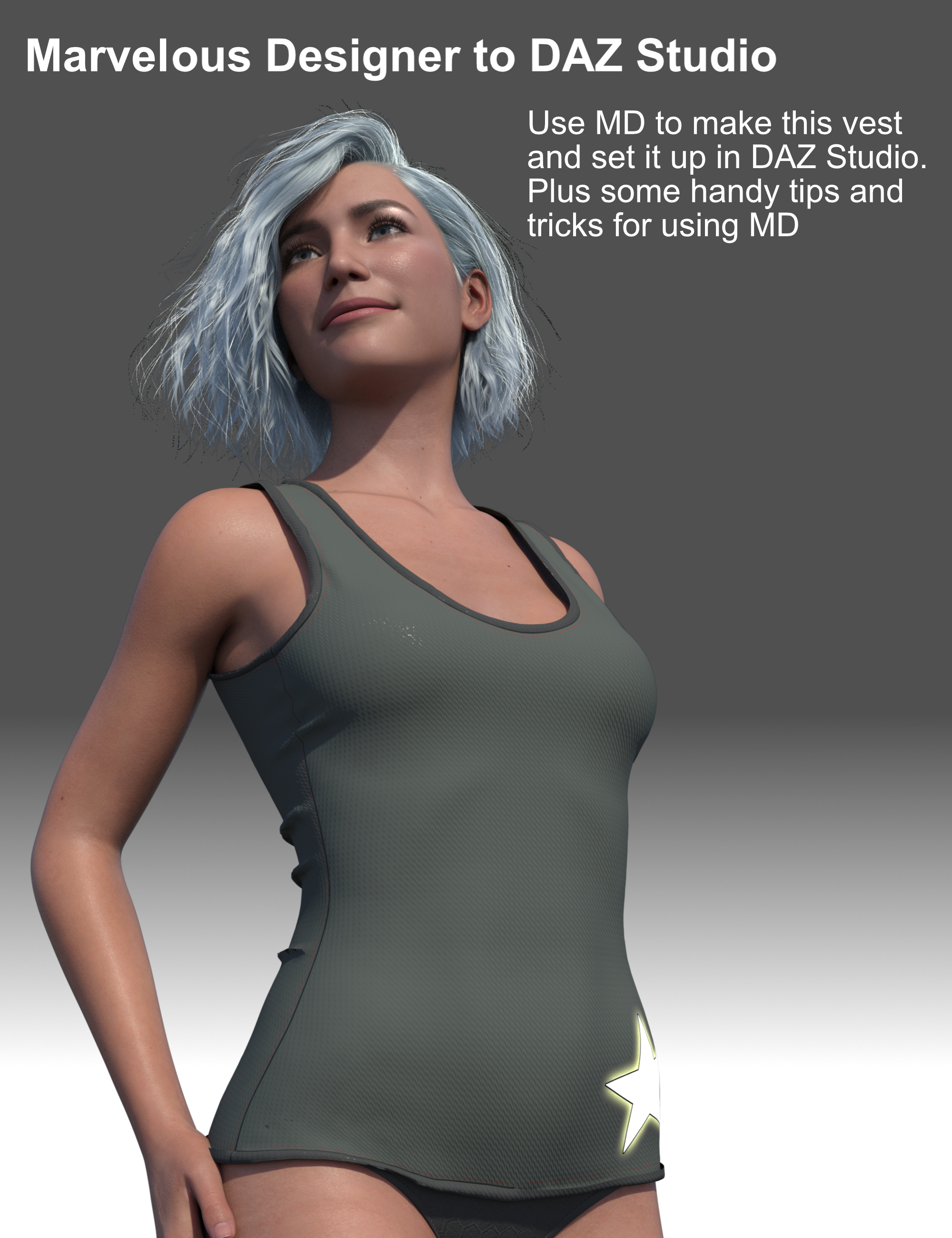 FG Marvelous Designer to Daz Studio Video Tutorial by: Fugazi1968, 3D Models by Daz 3D