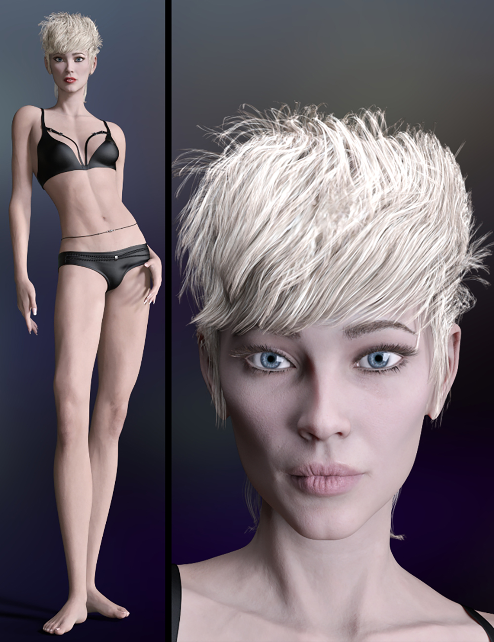 The Fashion Model HD for Genesis 8.1 Female by: 3DStyle, 3D Models by Daz 3D