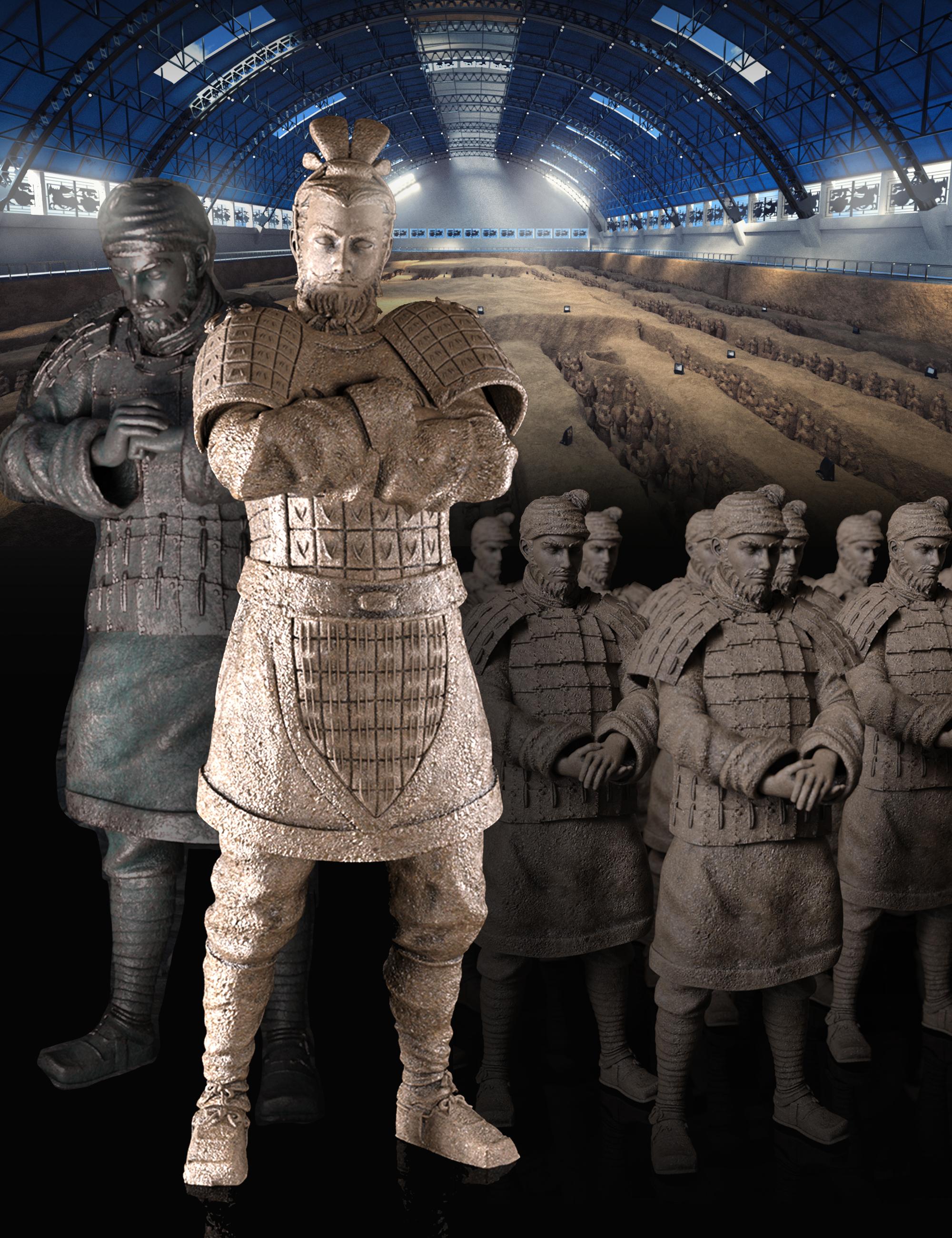 Terracotta Museum Bundle by: , 3D Models by Daz 3D