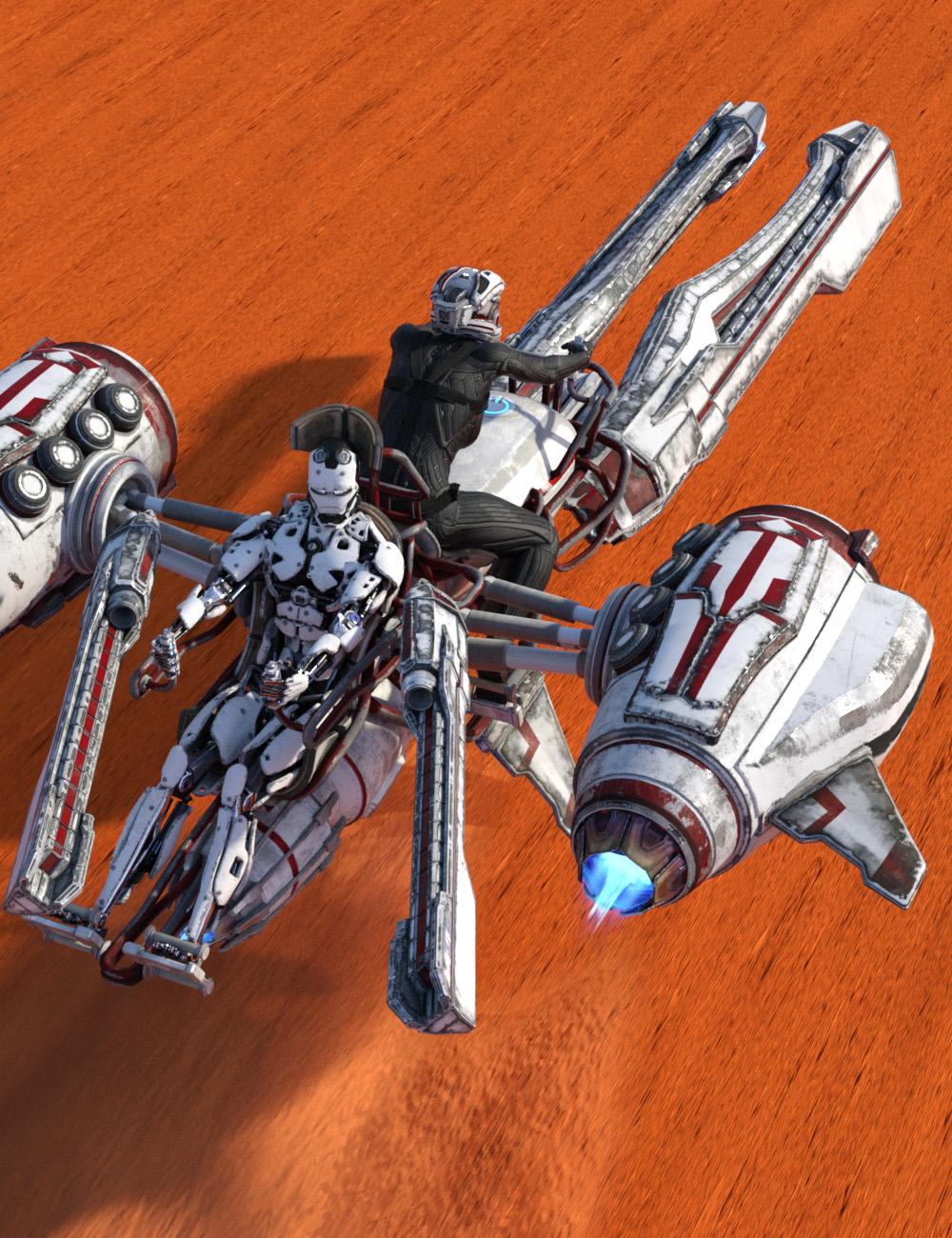 ATVE Mods - Janus and Desert Coyote by: Kara Pitat, 3D Models by Daz 3D
