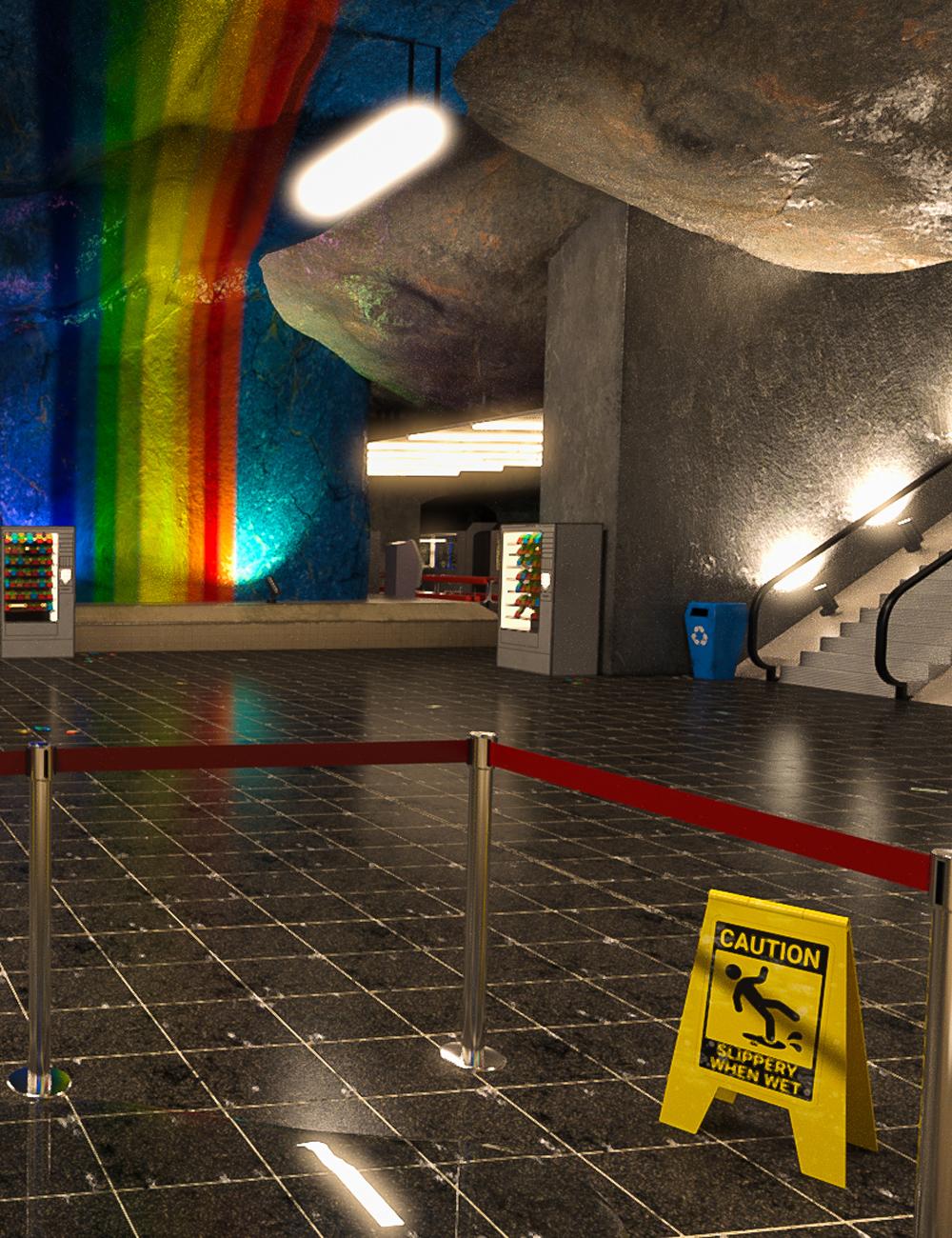 Subway Pride by: clacydarch3d, 3D Models by Daz 3D