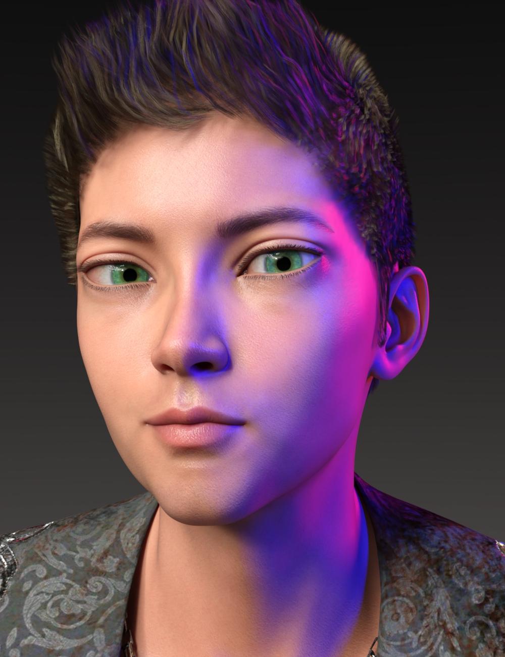 Alternative Shapes for Kota 8.1 by: AliveSheCried, 3D Models by Daz 3D