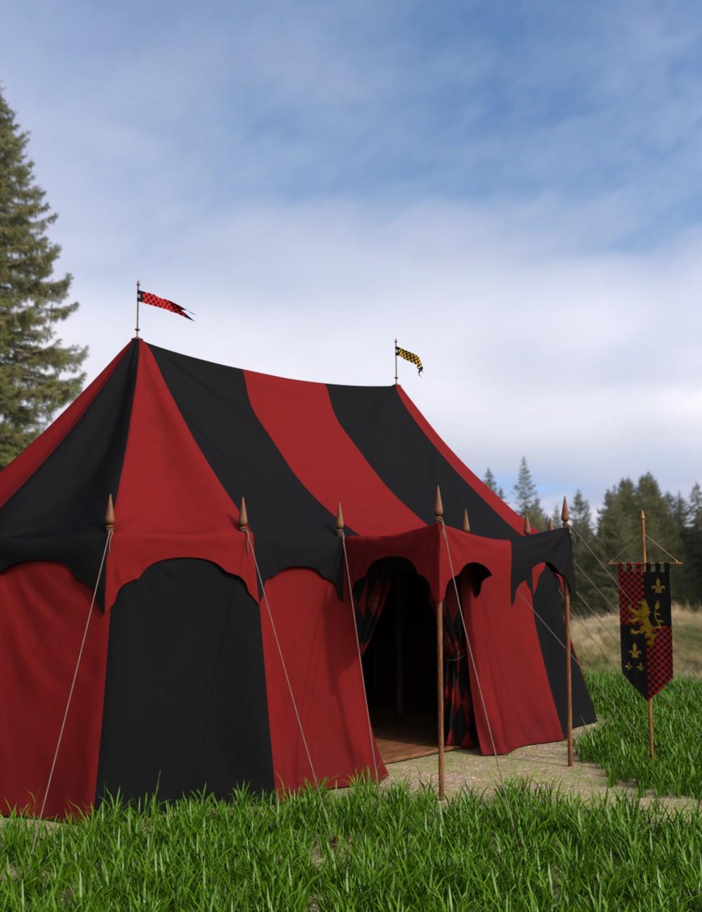 Commander's Tent Textures by: Goriav, 3D Models by Daz 3D