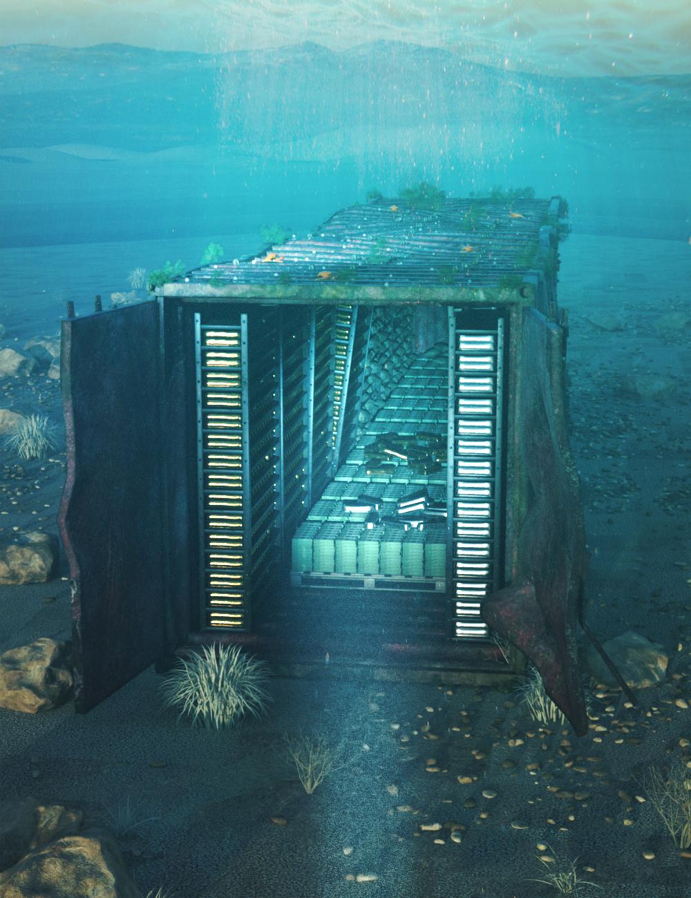 Underwater Treasure by: Charlie, 3D Models by Daz 3D