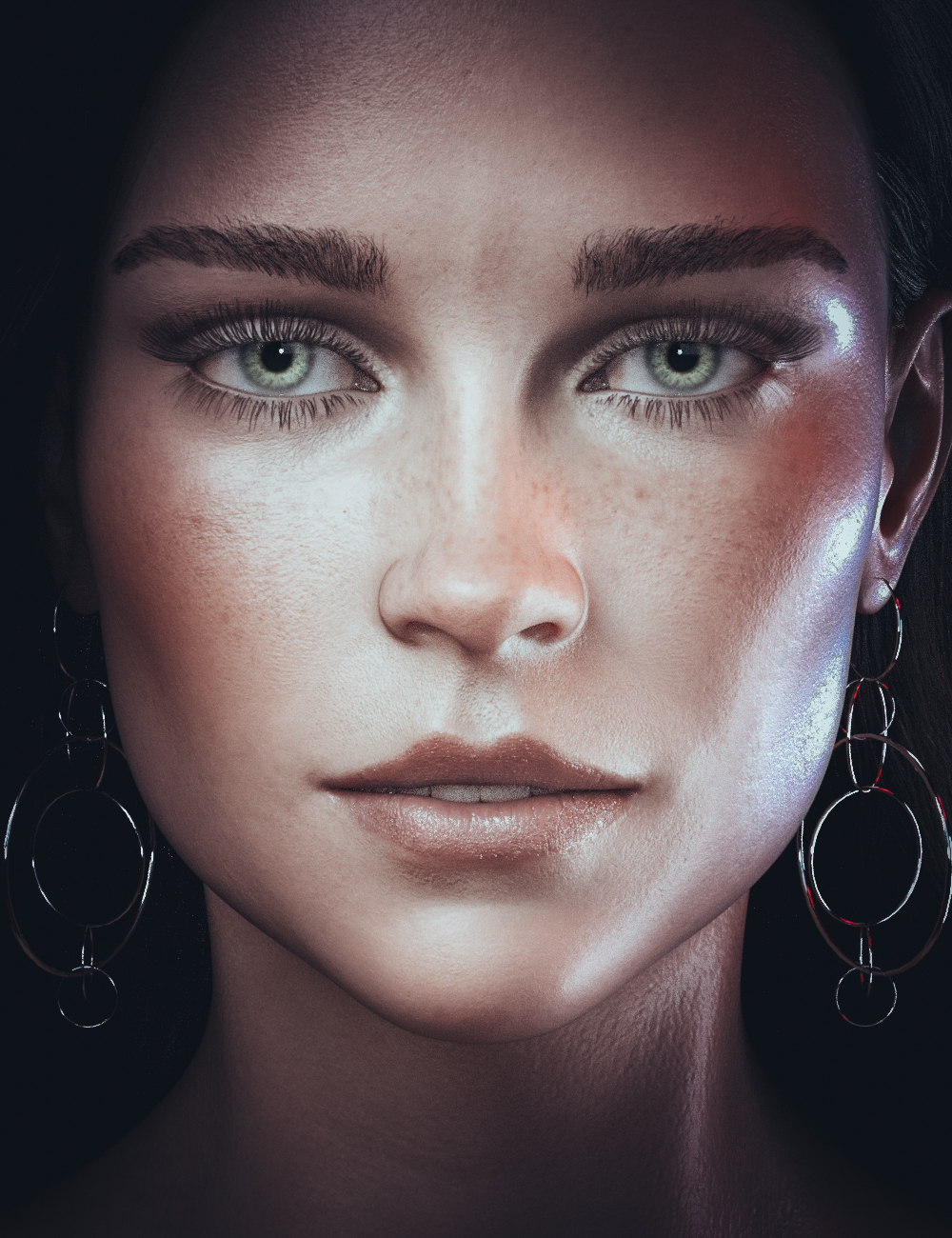 CB Alyona HD For Genesis 8 and 8.1 Female by: CynderBlue, 3D Models by Daz 3D