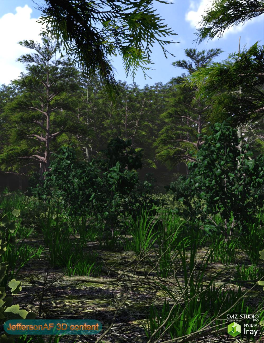 Mountain Forest by: JeffersonAF, 3D Models by Daz 3D