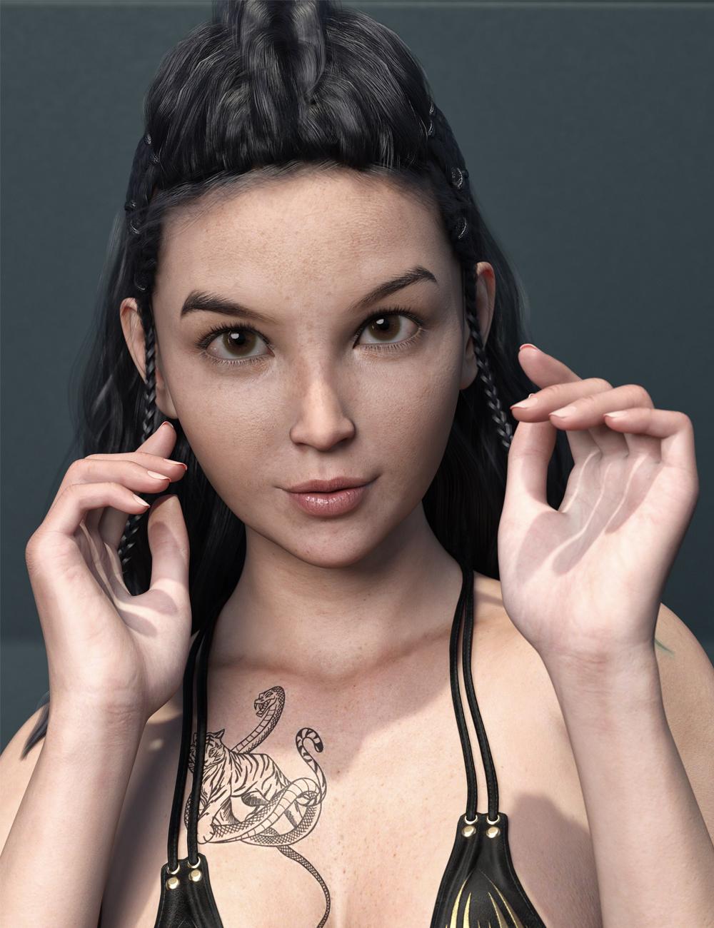 MR Gal for Genesis 8.1 Female by: Marcius, 3D Models by Daz 3D