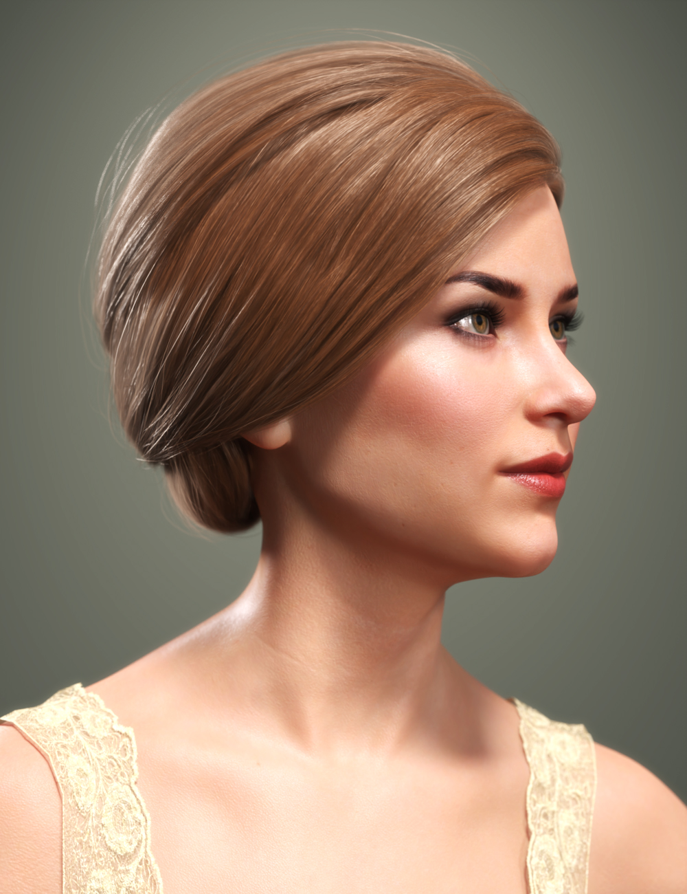 SP Hair 017 for Genesis 3 and 8 Females by: Sarah Payne, 3D Models by Daz 3D