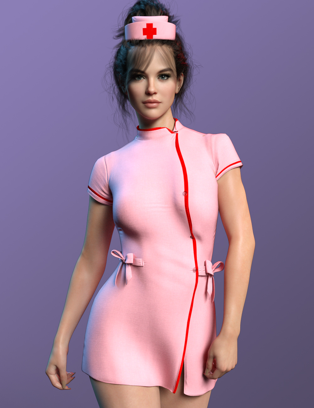 X-Fashion Uniform 06 for Genesis 8 and 8.1 Females by: xtrart-3d, 3D Models by Daz 3D