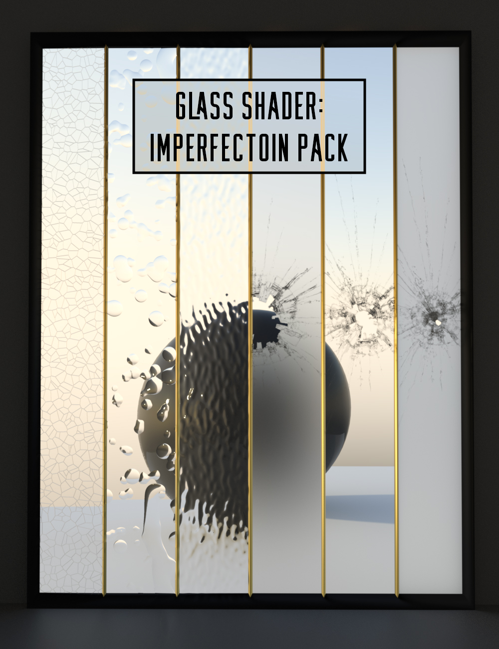 Glass Shader Imperfection Pack by: Censored, 3D Models by Daz 3D