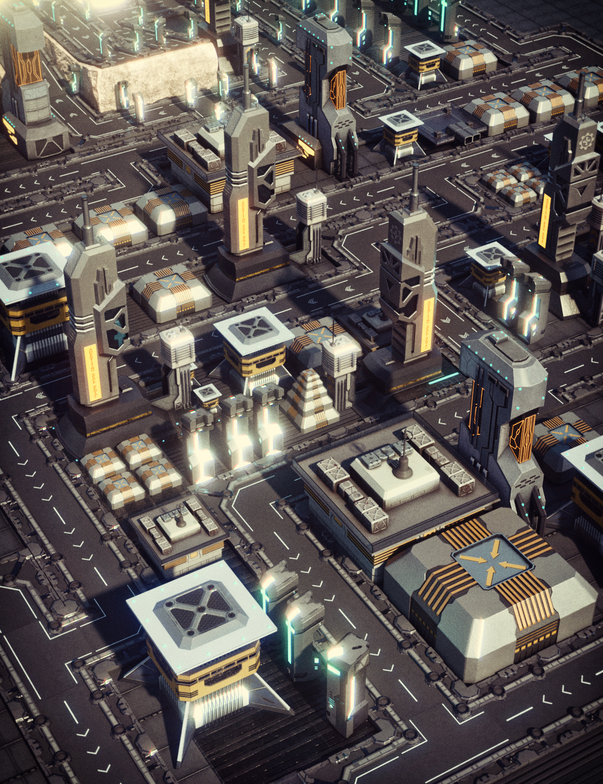 X-BIT Future Space Road by: X-BIT, 3D Models by Daz 3D