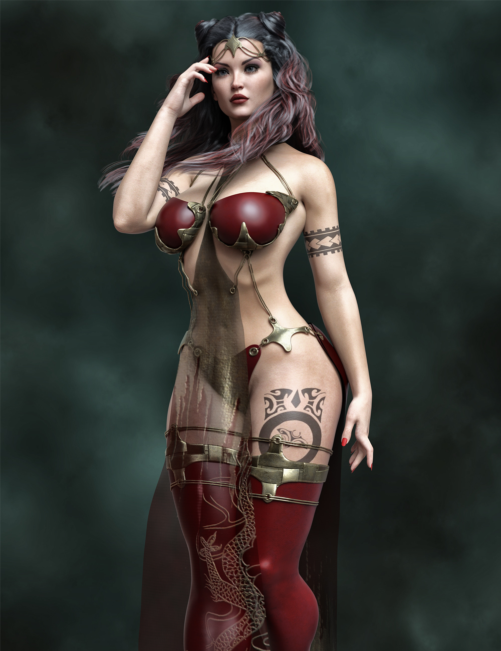 MR Lorayne for Genesis 8.1 Female by: Marcius, 3D Models by Daz 3D