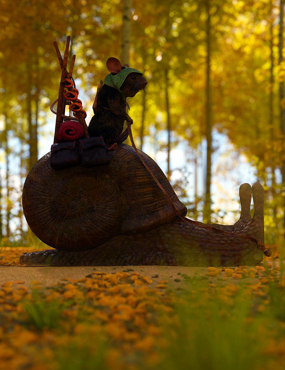 Riding Snail by: JoeQuick, 3D Models by Daz 3D