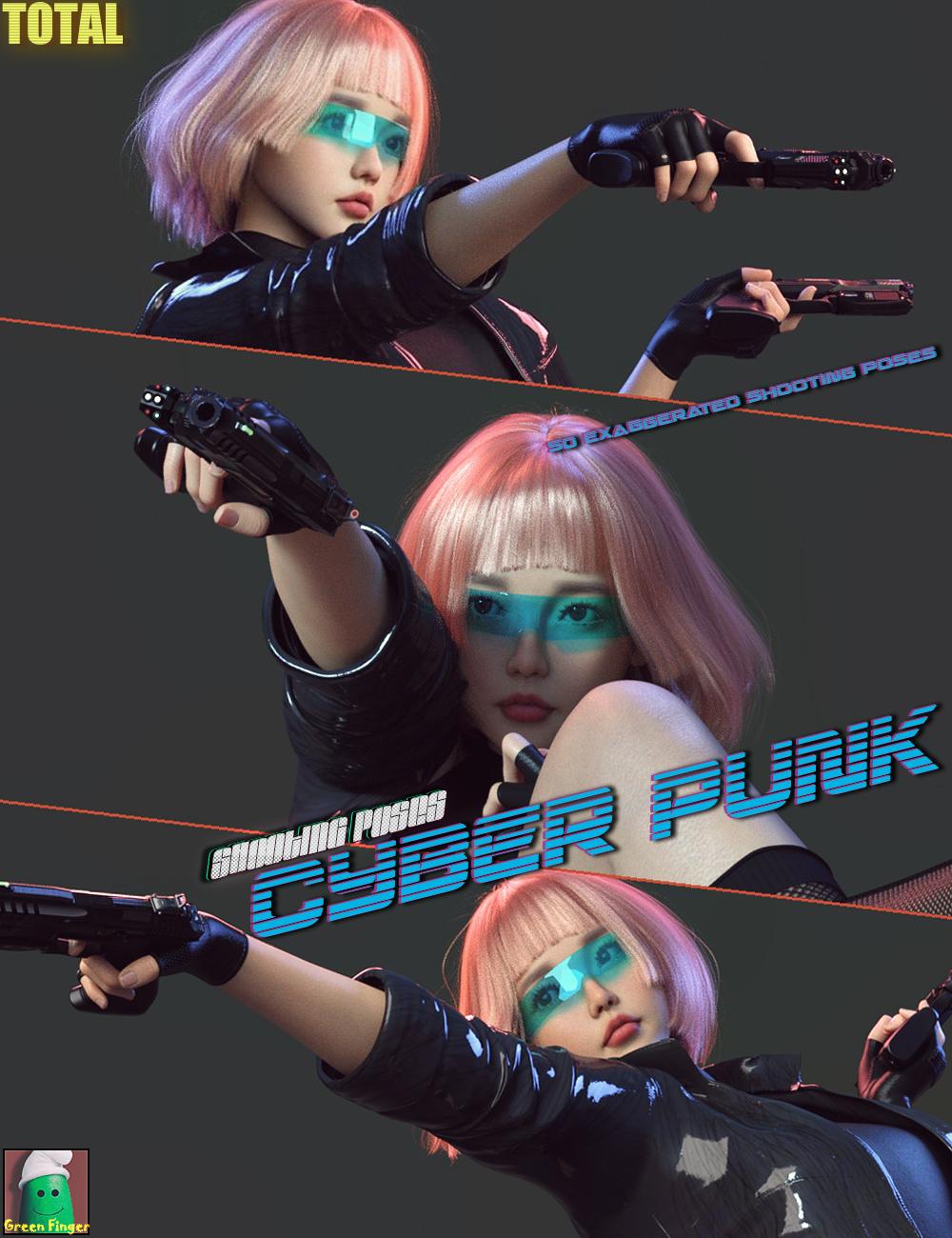 GF Total CPP Shooting Poses for Genesis 8 Females by: Nirvana, 3D Models by Daz 3D