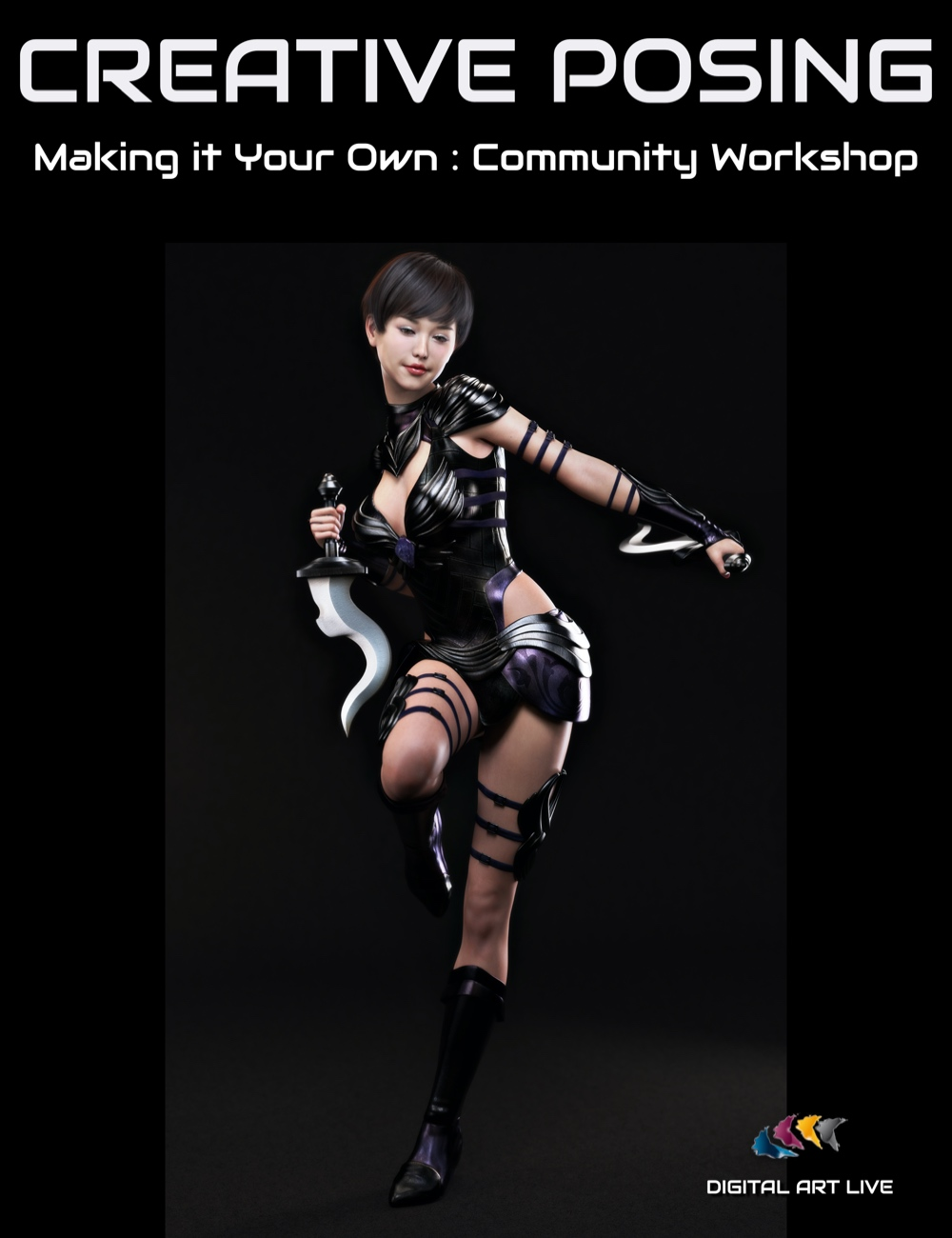 Creative Posing: Making It Your Own by: Digital Art Live, 3D Models by Daz 3D