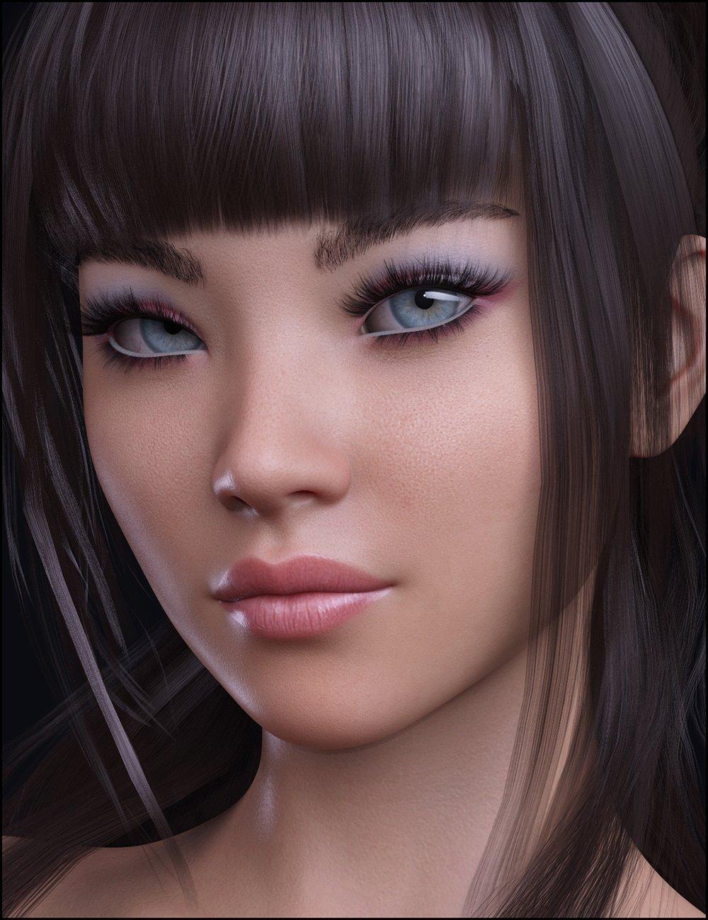 Ajisai for Genesis 8 and 8.1 Female by: JessaiiDemonicaEvilius, 3D Models by Daz 3D