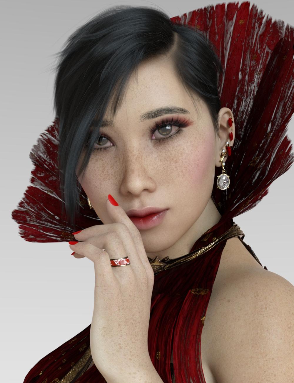 Ji Ah for Genesis 8 Female by: Warloc, 3D Models by Daz 3D