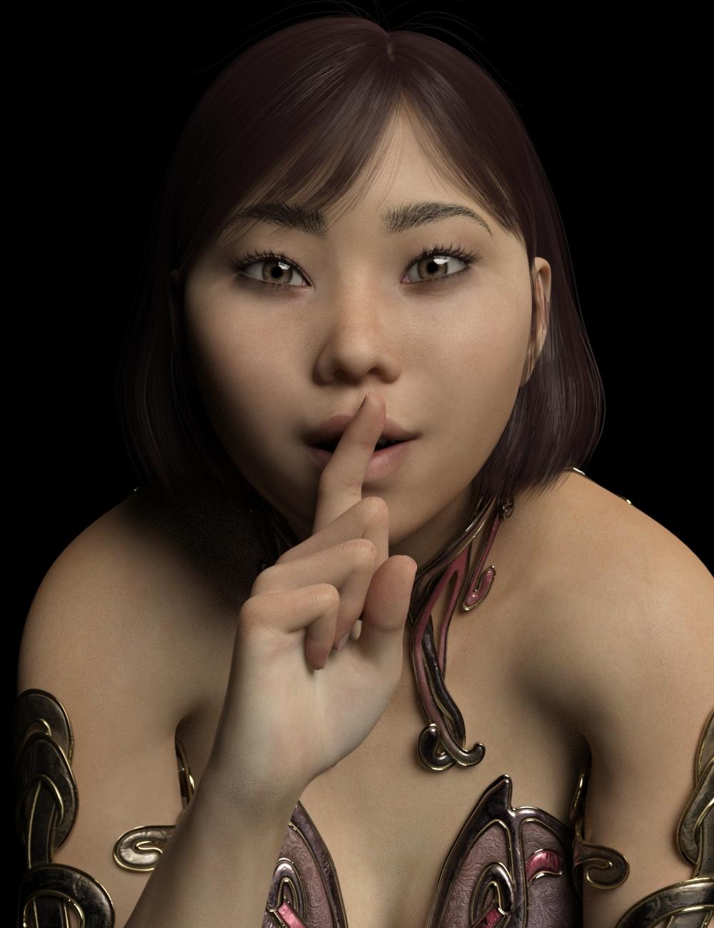 Sakiya for Genesis 8 Female by: Warloc, 3D Models by Daz 3D
