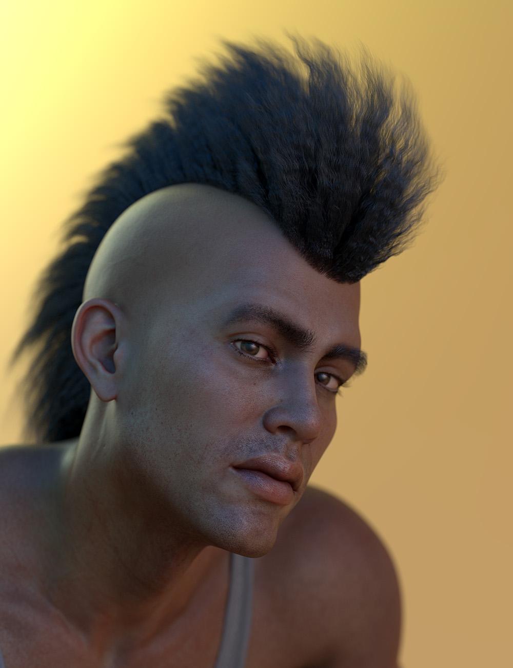 Oso Mane for Genesis 8.1 Male by: Oso3D, 3D Models by Daz 3D