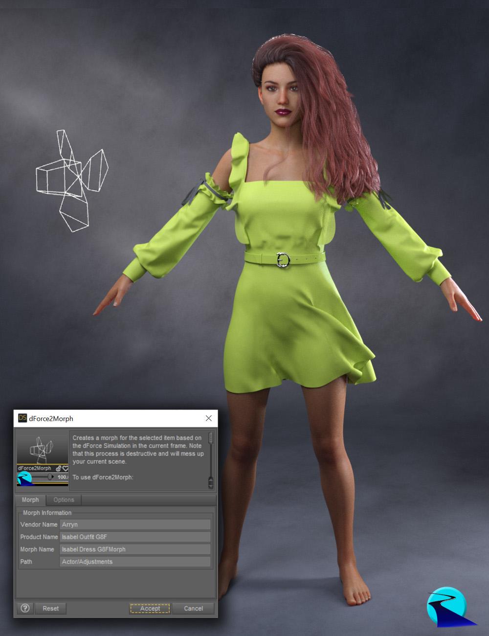 dForce2Morph by: RiverSoft Art, 3D Models by Daz 3D