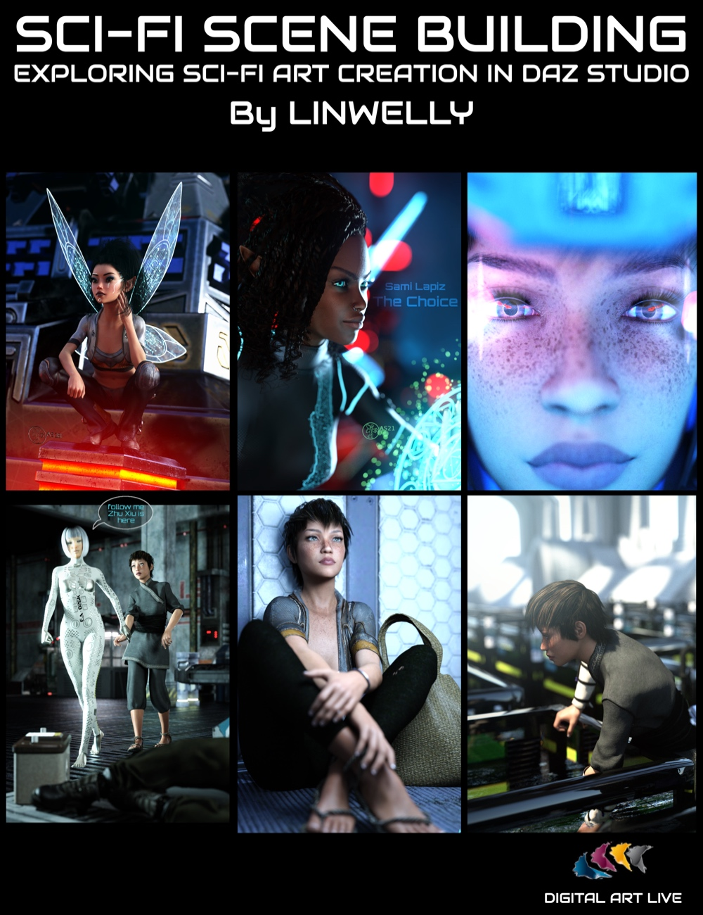 Sci-fi Scene Building: Exploring Sci-fi Art Creation in Daz Studio by: Digital Art Live, 3D Models by Daz 3D