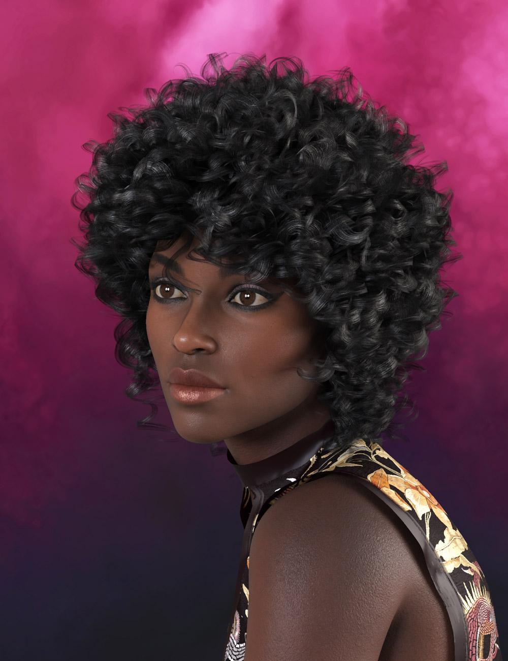 Iris Hair for Genesis 8 by: Prae, 3D Models by Daz 3D