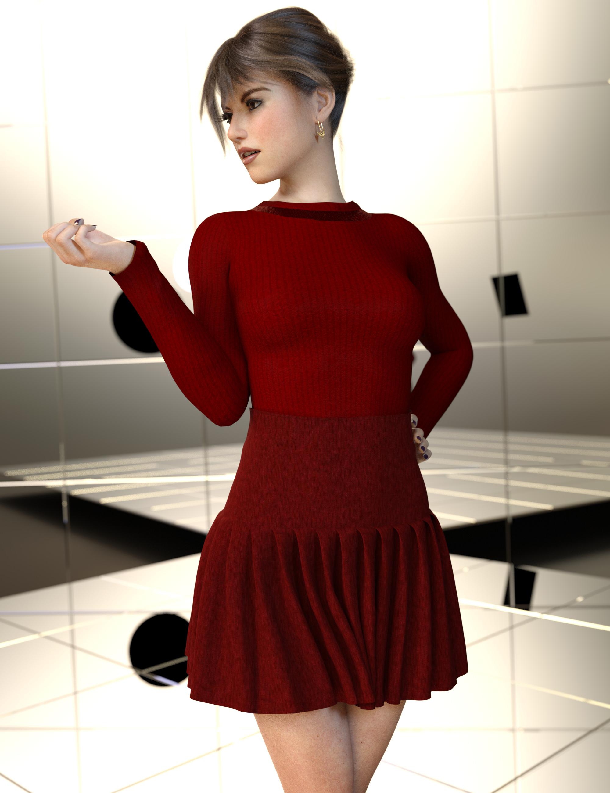 dForce Coco Outfit Texture Expansion by: Nelmi, 3D Models by Daz 3D