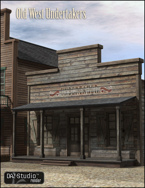 Old West Undertakers by: , 3D Models by Daz 3D