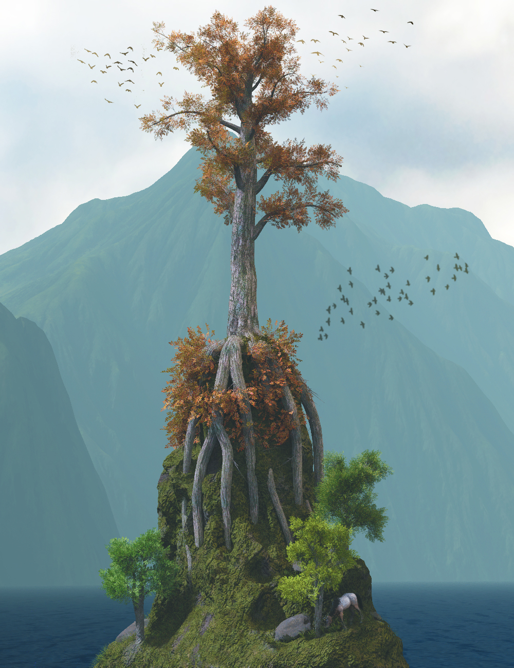 The Queen of Trees by: Gendragon3D, 3D Models by Daz 3D