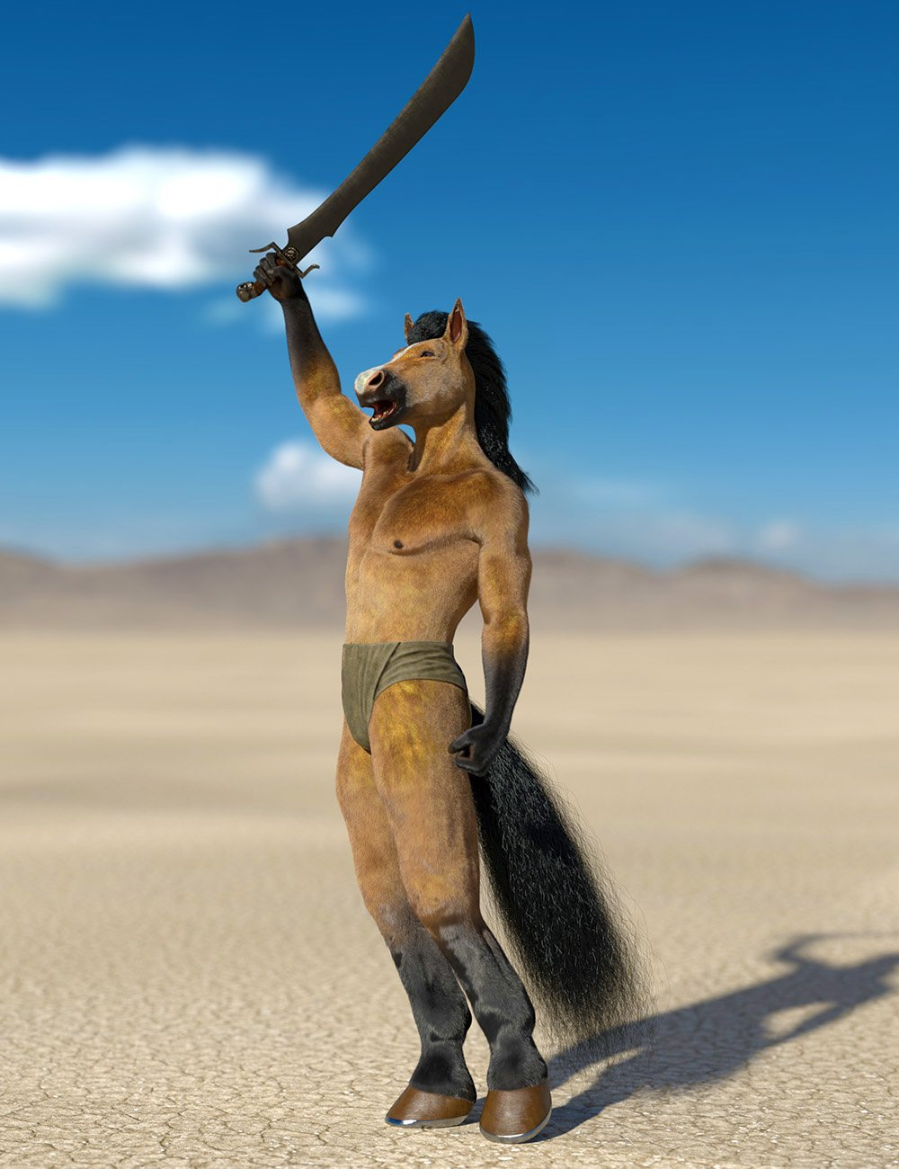 Oso Horseman for Genesis 8.1 Male Bundle by: Oso3D, 3D Models by Daz 3D