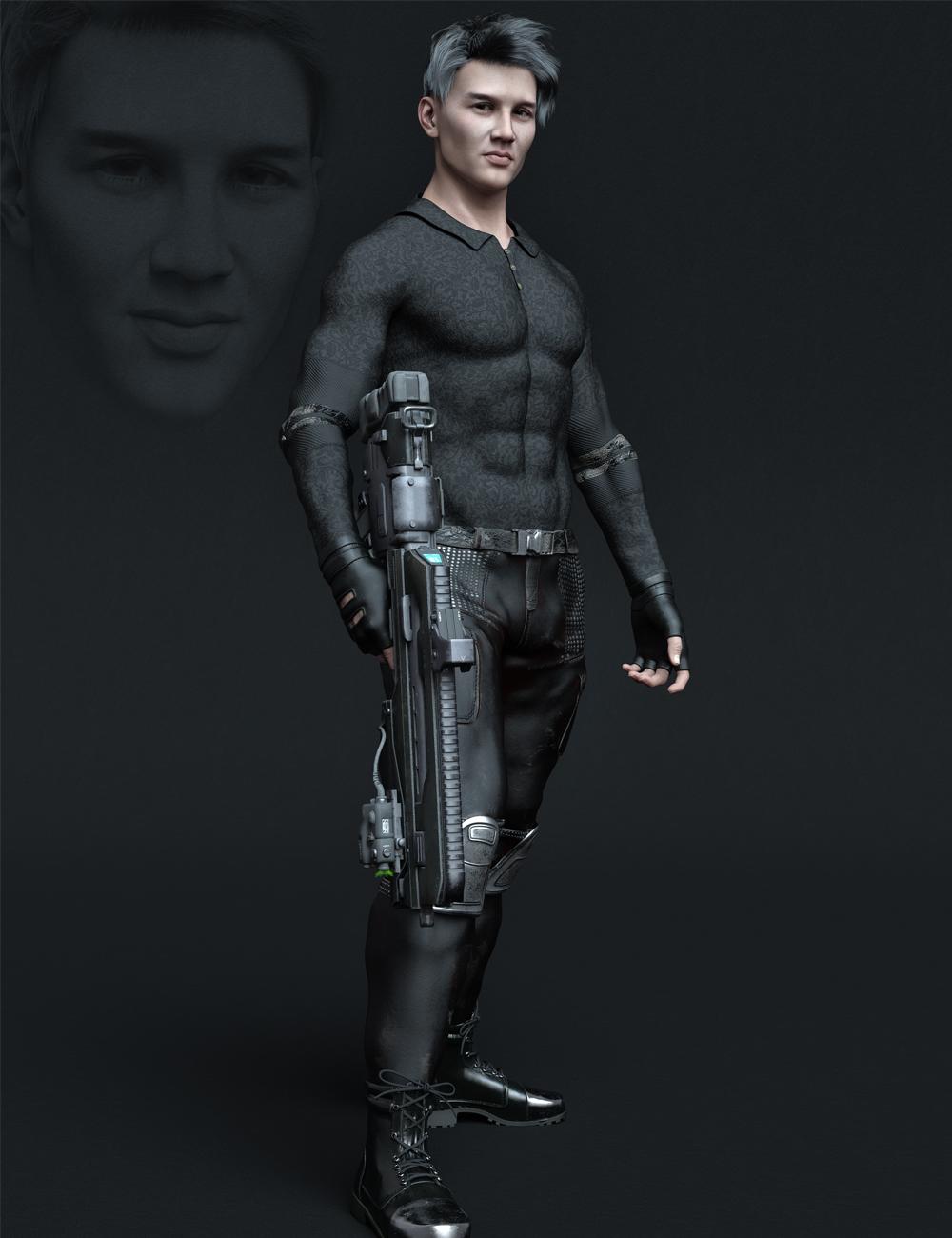 MR Paul for Genesis 8.1 Male by: Marcius, 3D Models by Daz 3D