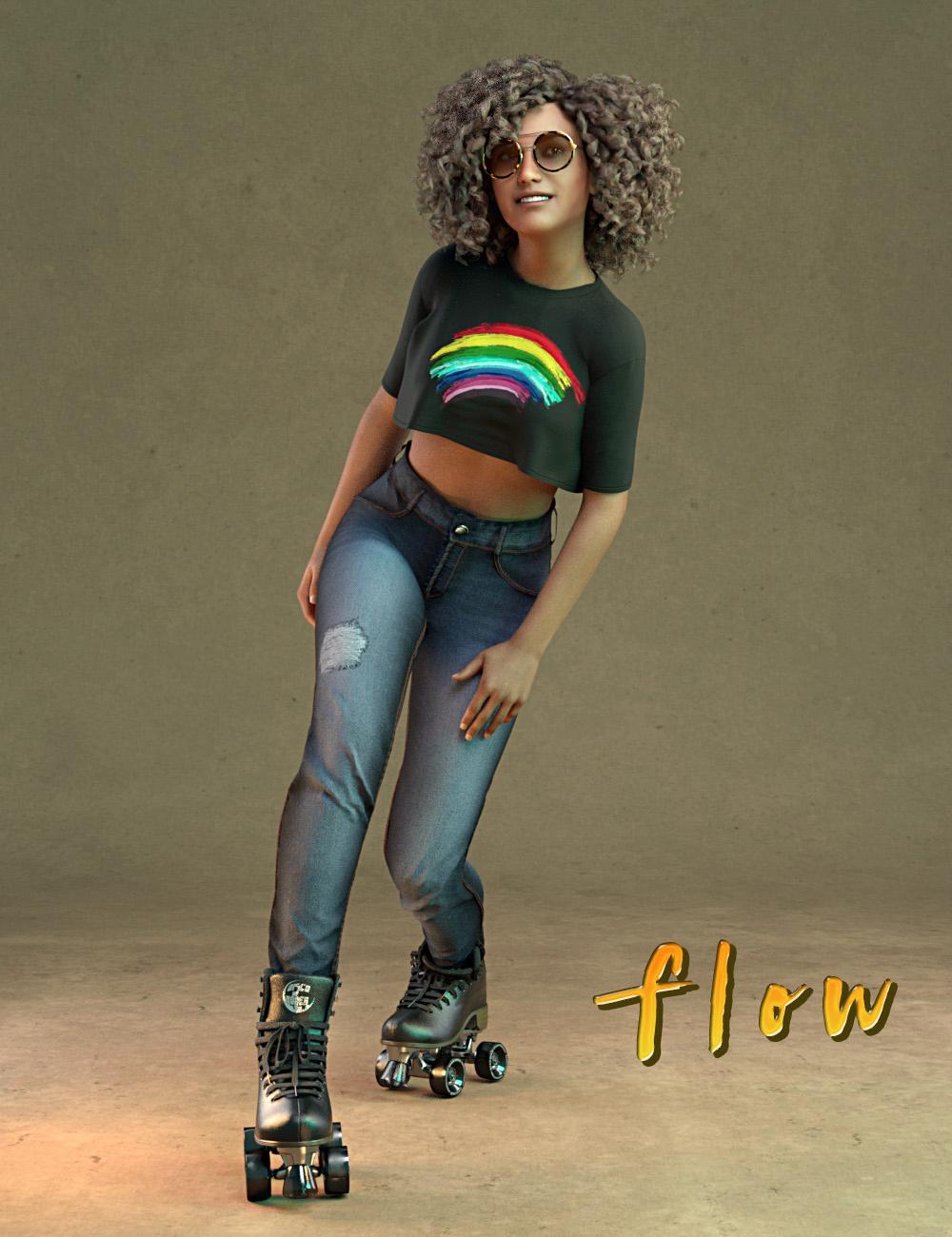 IGD Flow Poses for Genesis 8 Female by: Islandgirl, 3D Models by Daz 3D