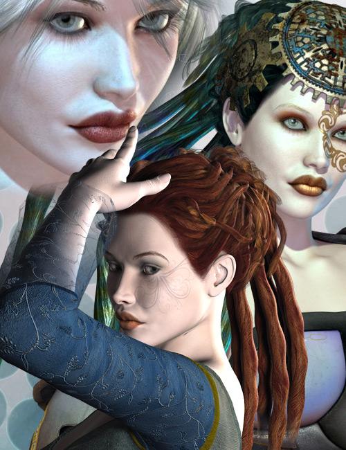 Wynter Snow Bundle by: AprilYSHsurreality, 3D Models by Daz 3D