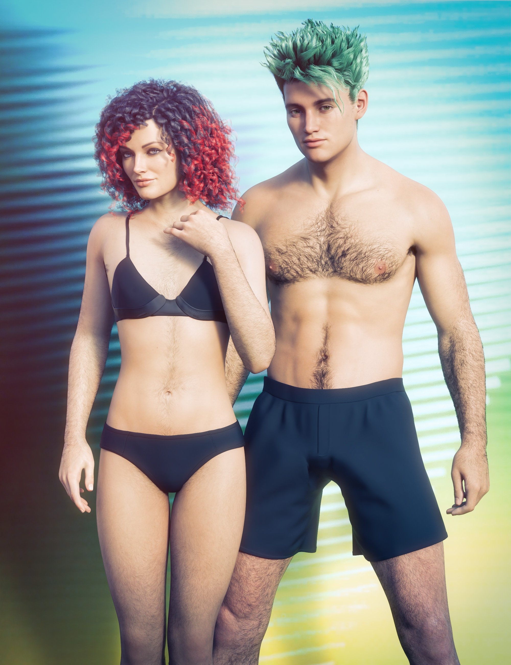 Jepe's Body Hair Project 8.1 by: Jepe, 3D Models by Daz 3D