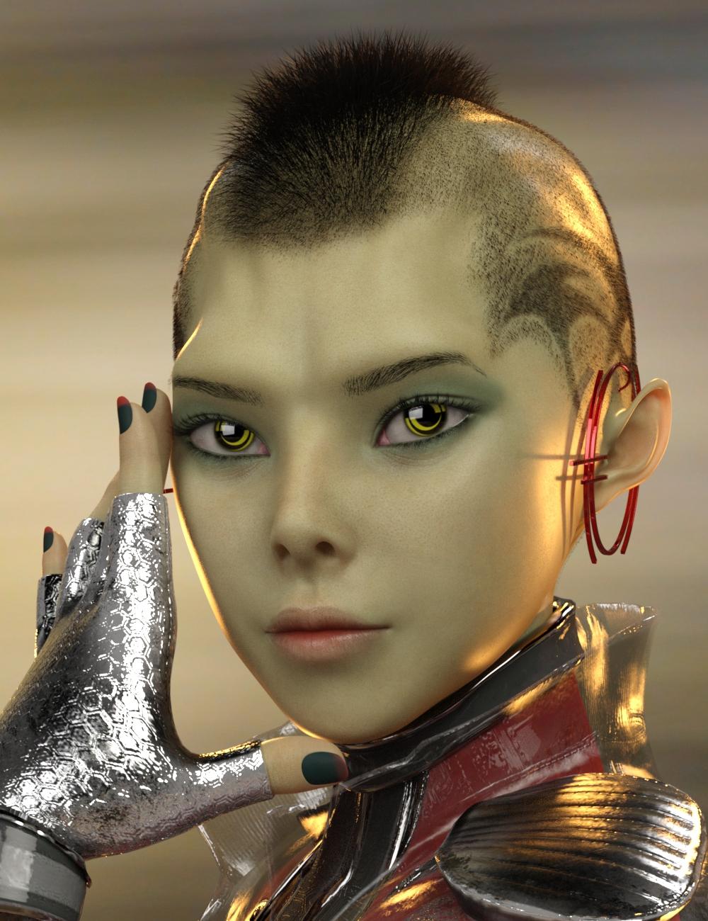 Kozue for Genesis 8 Female by: Warloc, 3D Models by Daz 3D