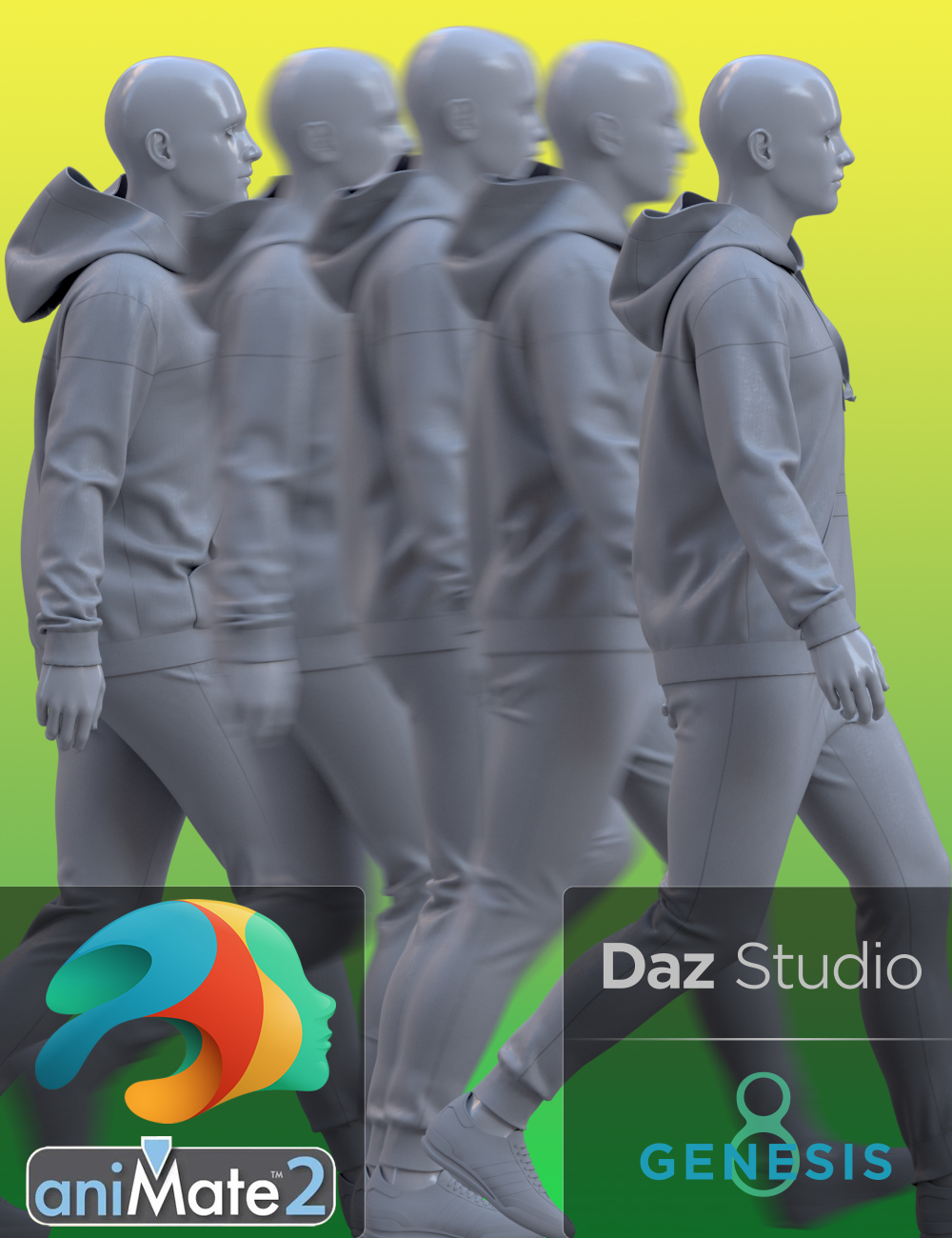 aniMate Catwalk Construction Kit for Genesis 8 and 8.1 Males by: Havanalibere, 3D Models by Daz 3D