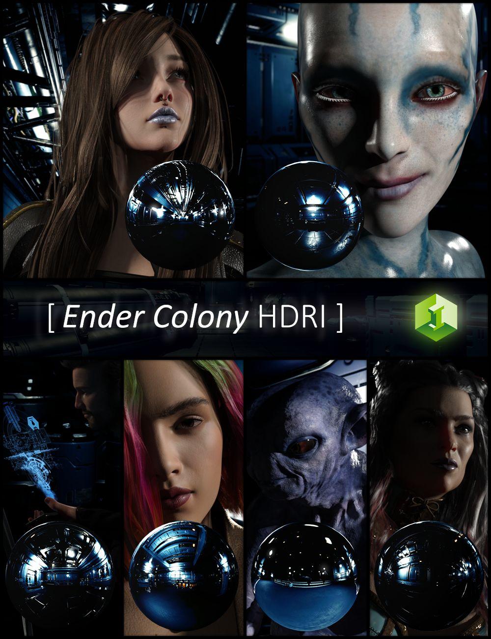 Ender Colony HDRI by: JDA HDRI, 3D Models by Daz 3D
