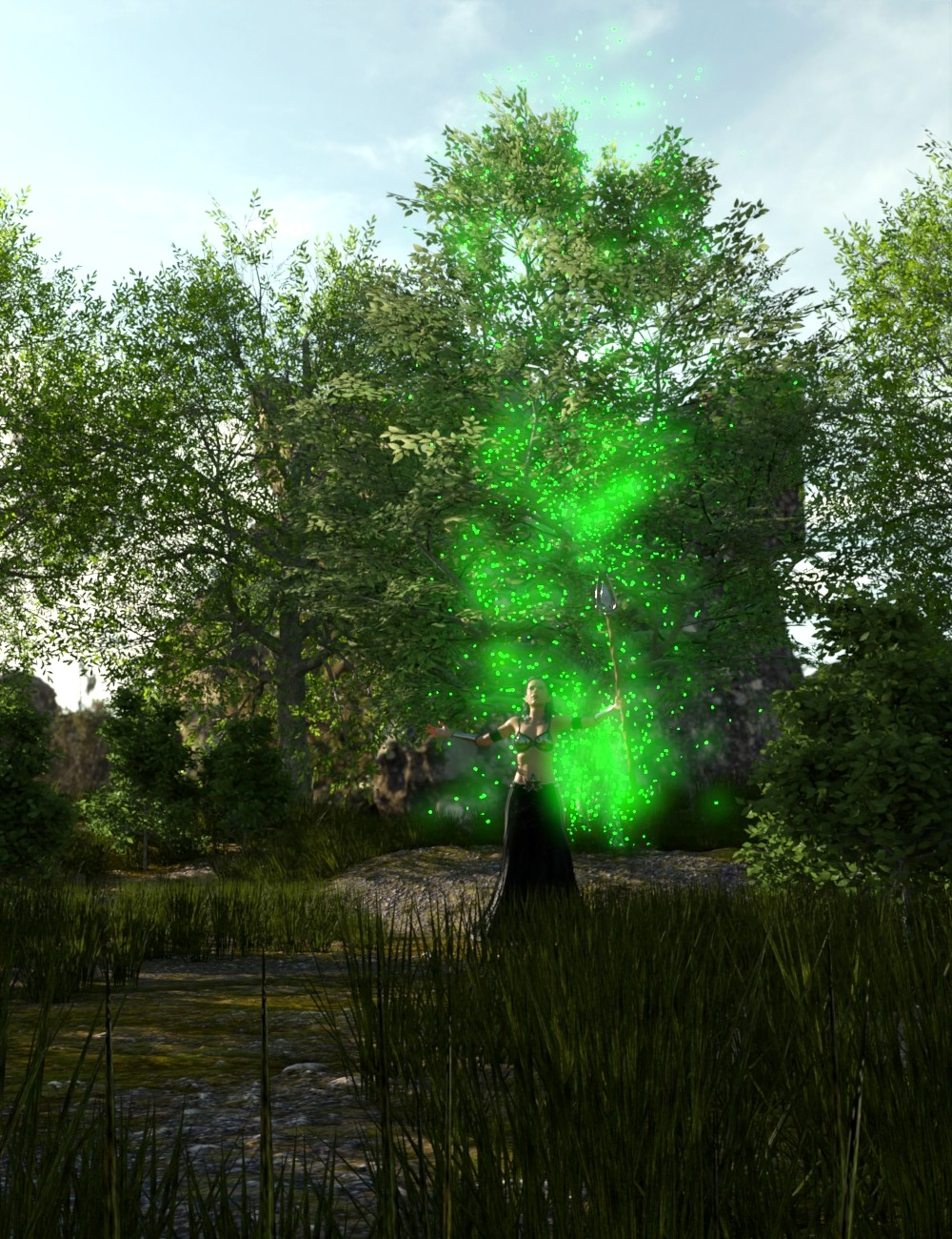 The Magical Tree by: JeffersonAF, 3D Models by Daz 3D