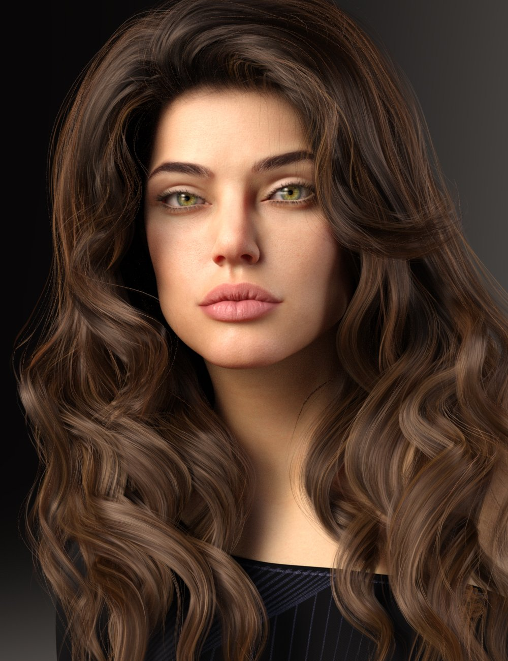 Sharon HD for Genesis 8 and 8.1 Female by: Mousso, 3D Models by Daz 3D