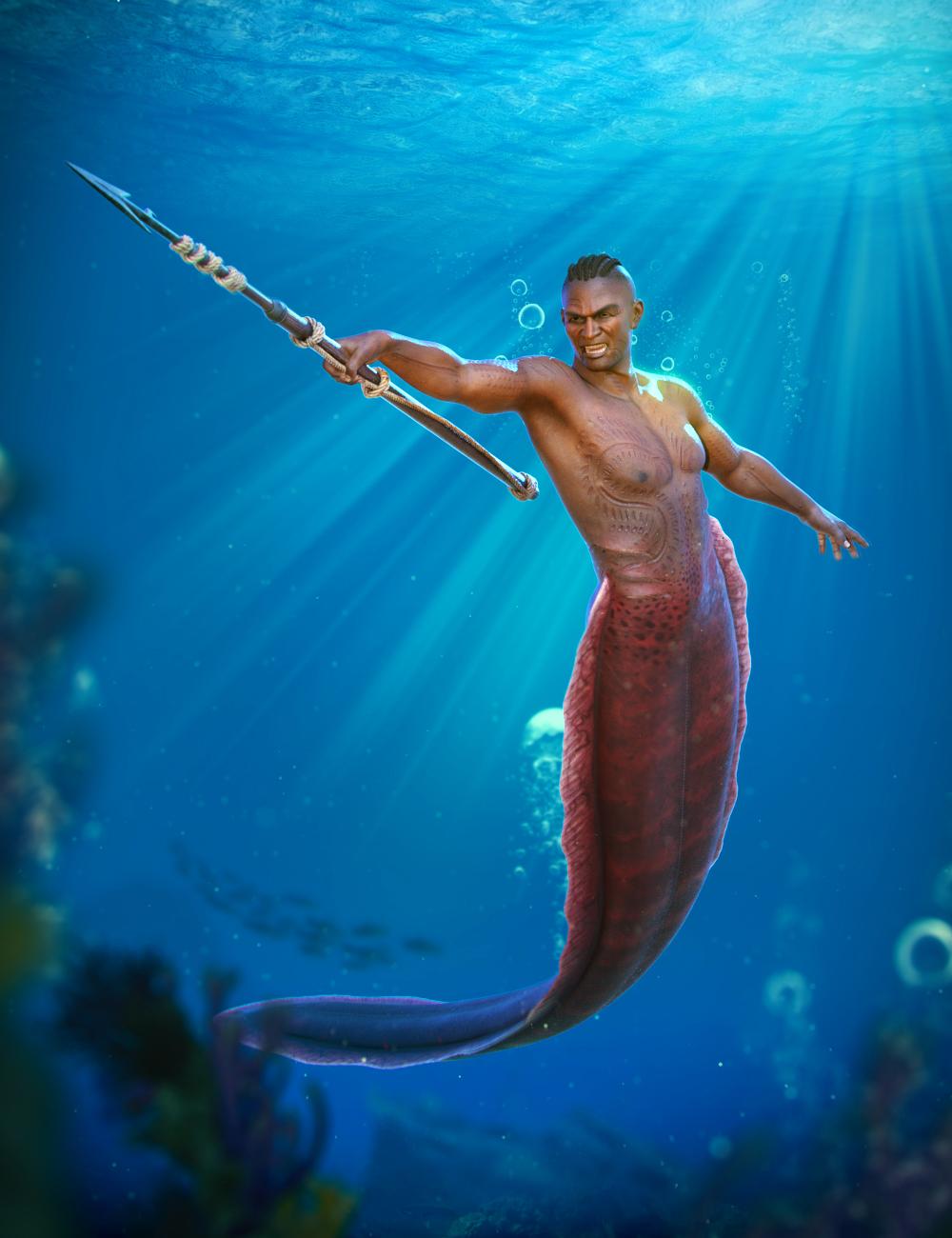 Mermaid Animations for Zale 8.1 by: ThreeDigital, 3D Models by Daz 3D