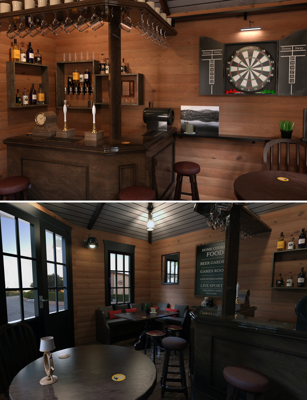 Home Drunken Crab by: Tesla3dCorp, 3D Models by Daz 3D