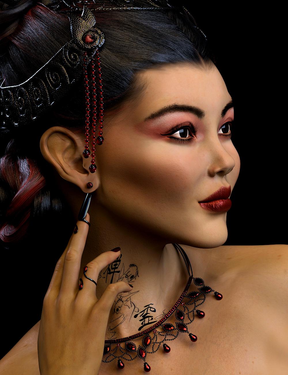 Narumi HD for Genesis 8.1 Female by: Spiritfoxy, 3D Models by Daz 3D