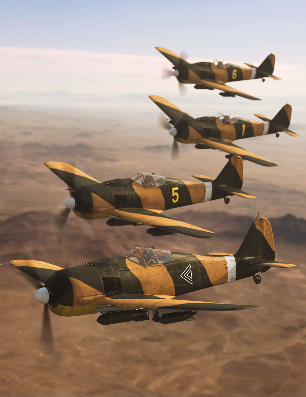 FW190 Warplane by: Predatron, 3D Models by Daz 3D