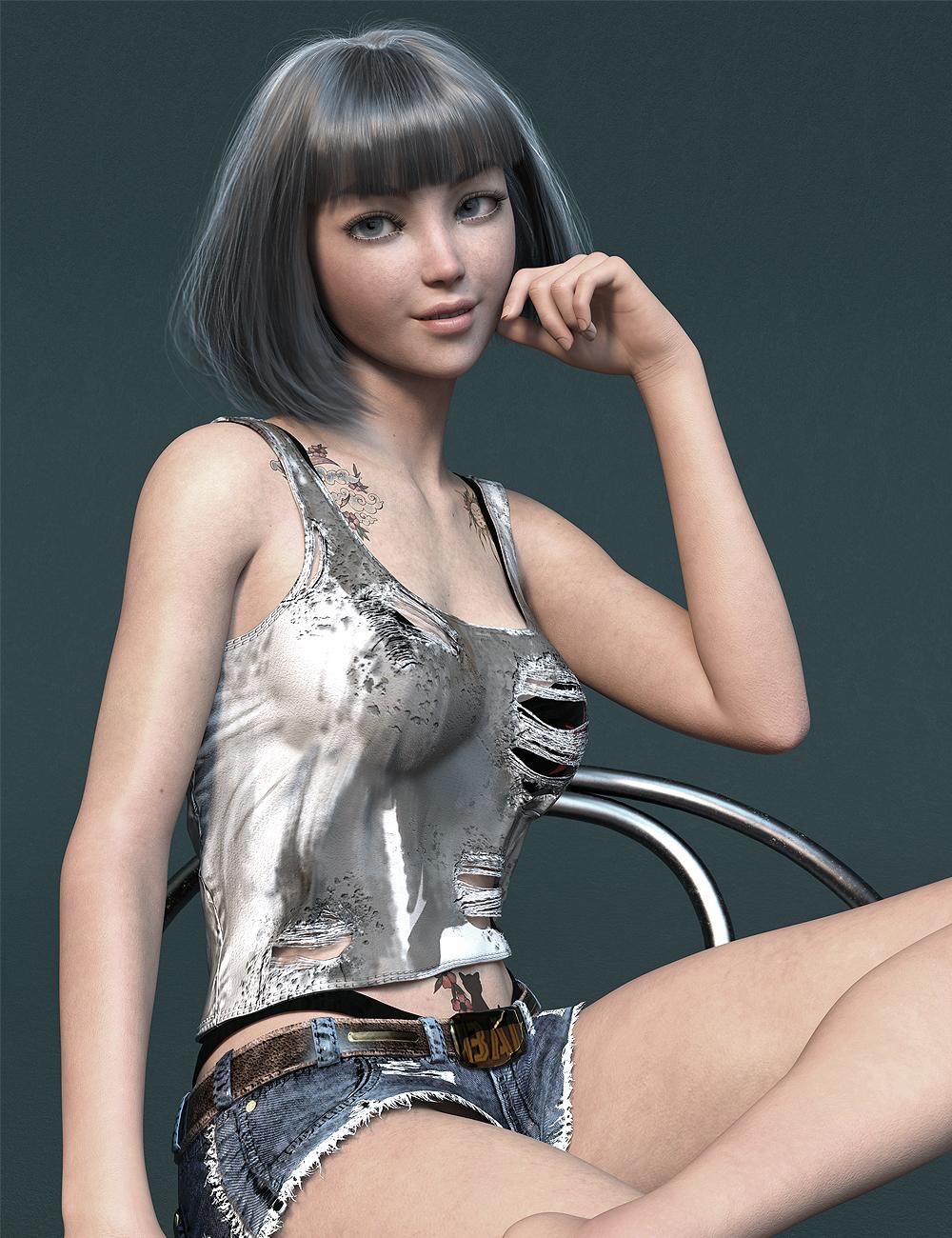 MR Karyna for Genesis 8.1 Female by: Marcius, 3D Models by Daz 3D