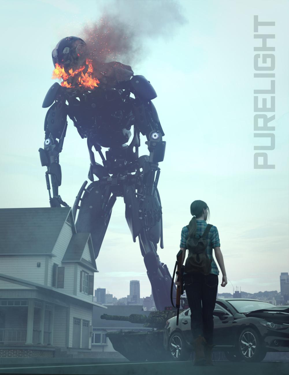 PureLight Apocalypse by: KindredArtsRavenLoor, 3D Models by Daz 3D