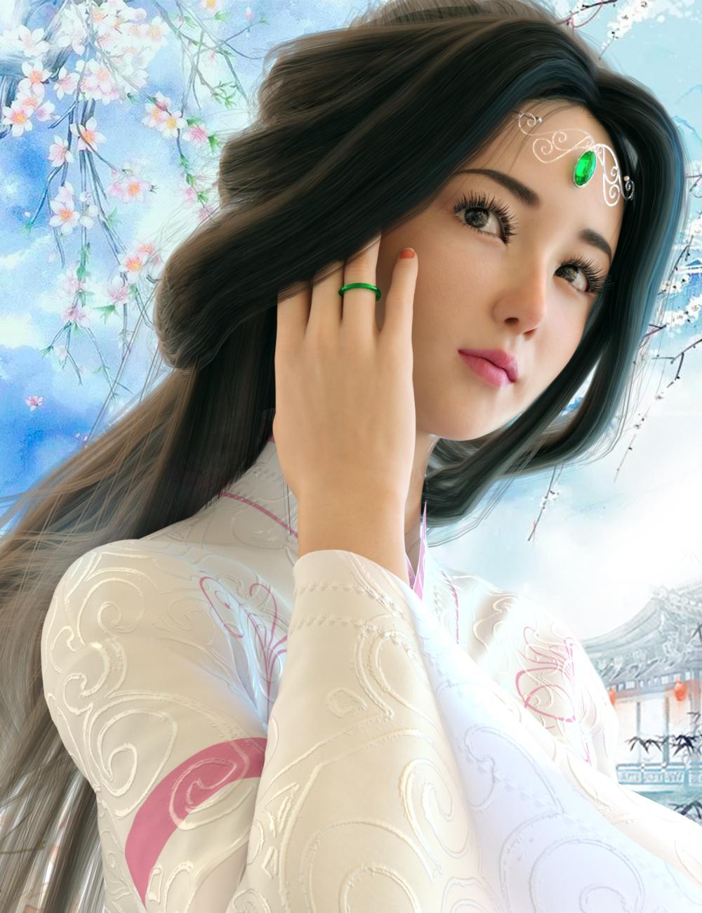 Vo Xiao Nan for Genesis 8.1 Female by: VOOTW, 3D Models by Daz 3D